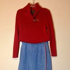 Vintage Ralph Lauren Sweater Toggle RRL Horsebit